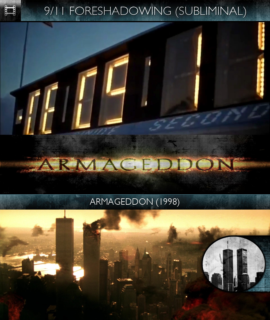Armageddon (1998) - 9/11 Foreshadowing