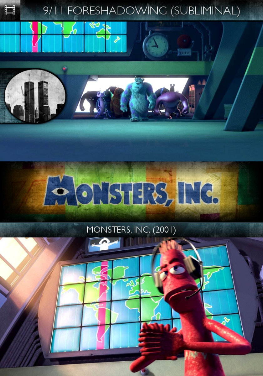 Monsters, Inc. (2001) - 9/11 Foreshadowing