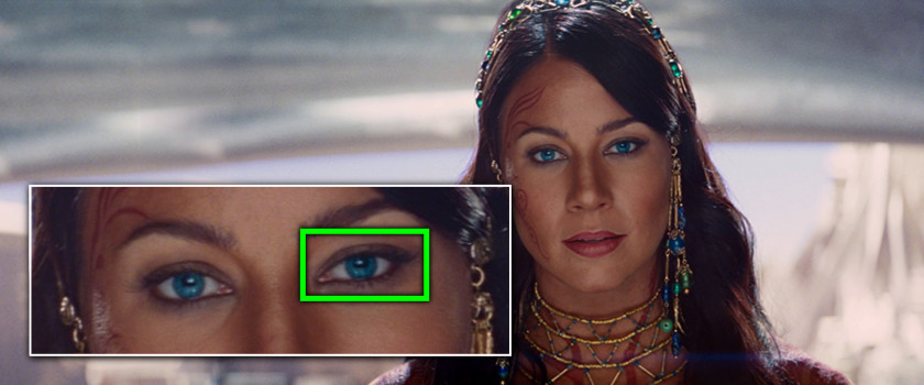 Project Monarch - John Carter (2012) - Droopy Eyelid - Lynn Collins
