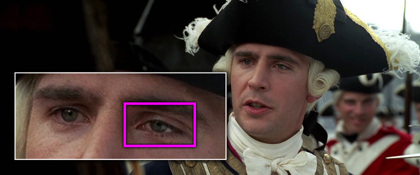 Project Monarch - Pirates of the Caribbean: The Curse of the Black Pearl (2003) - Droopy Eyelid - Jack Davenport