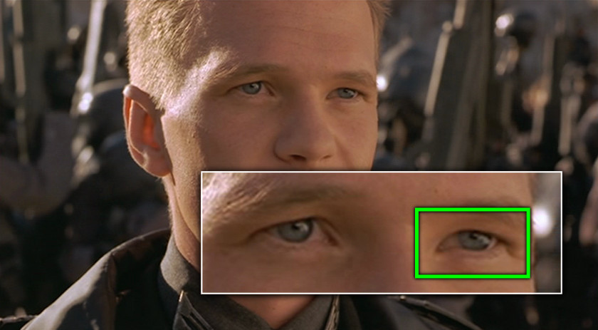 Project Monarch - Starship Troopers (1997) - Droopy Eyelid - Neil Patrick Harris
