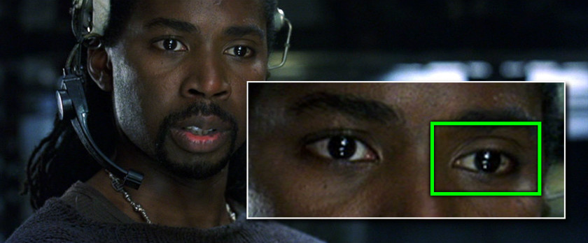 Project Monarch - The Matrix Revolutions (2003) - Droopy Eyelid - Harold Perrineau