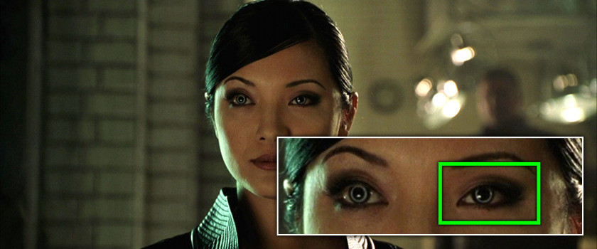 Project Monarch - X2 (2003) - Droopy Eyelid - Kelly Hu