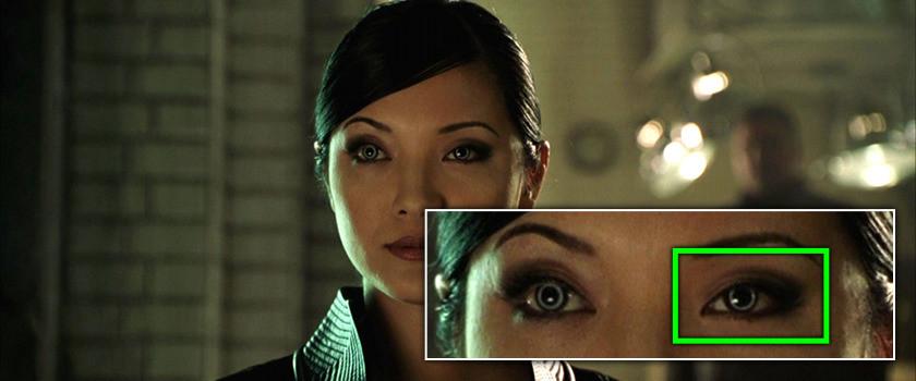 Project Monarch - X2 (2003) - Droopy Eyelid - Kelly Hu