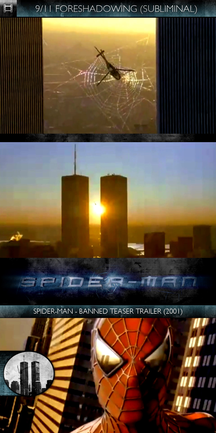 Spider-Man (2002) - Banned Teaser Trailer (2001) - 9/11 Foreshadowing