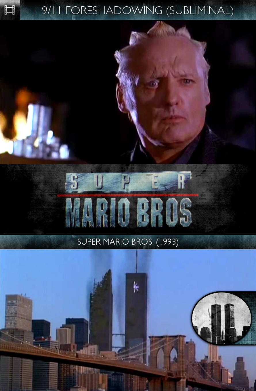 Super Mario Bros. (1993) - 9/11 Foreshadowing