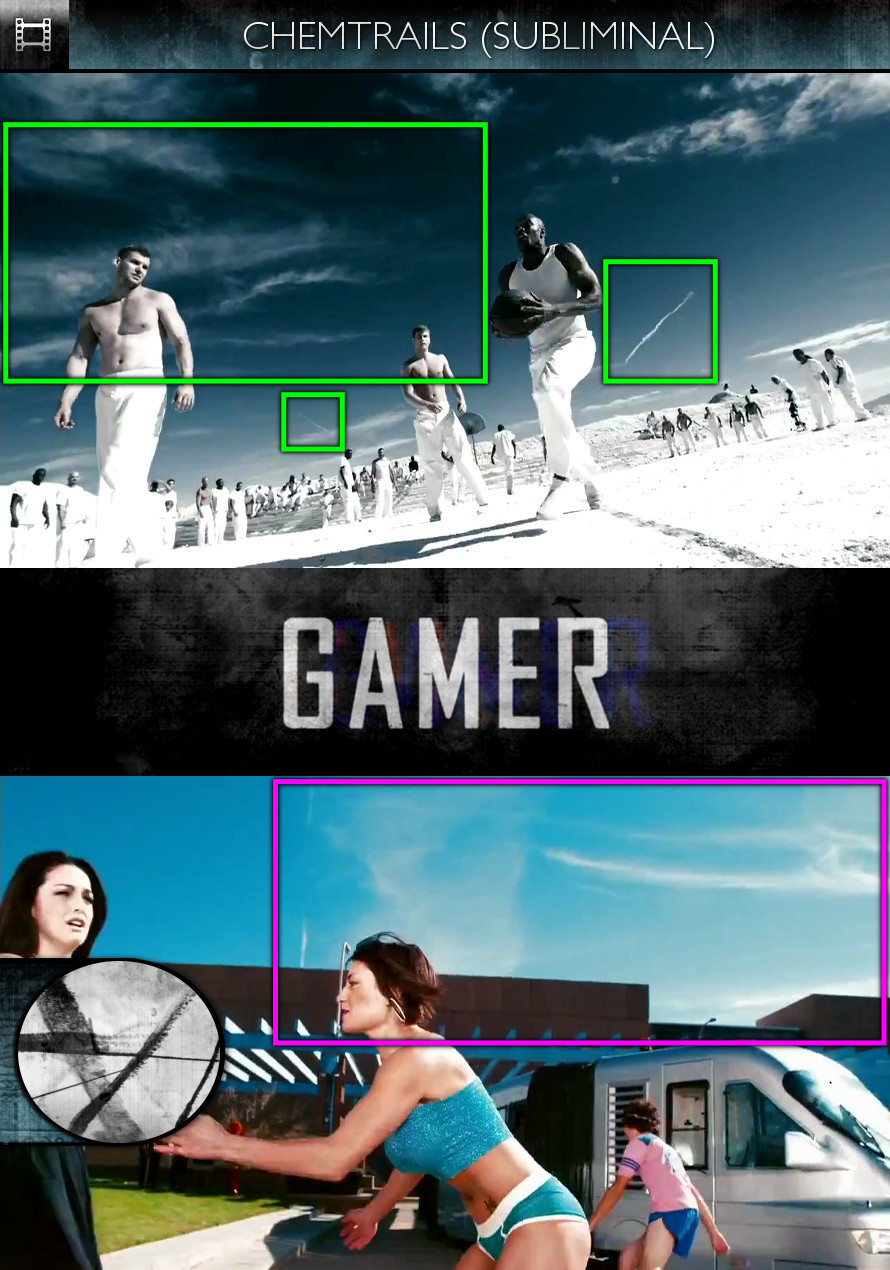 Gamer (2009) - Chemtrails - Subliminal