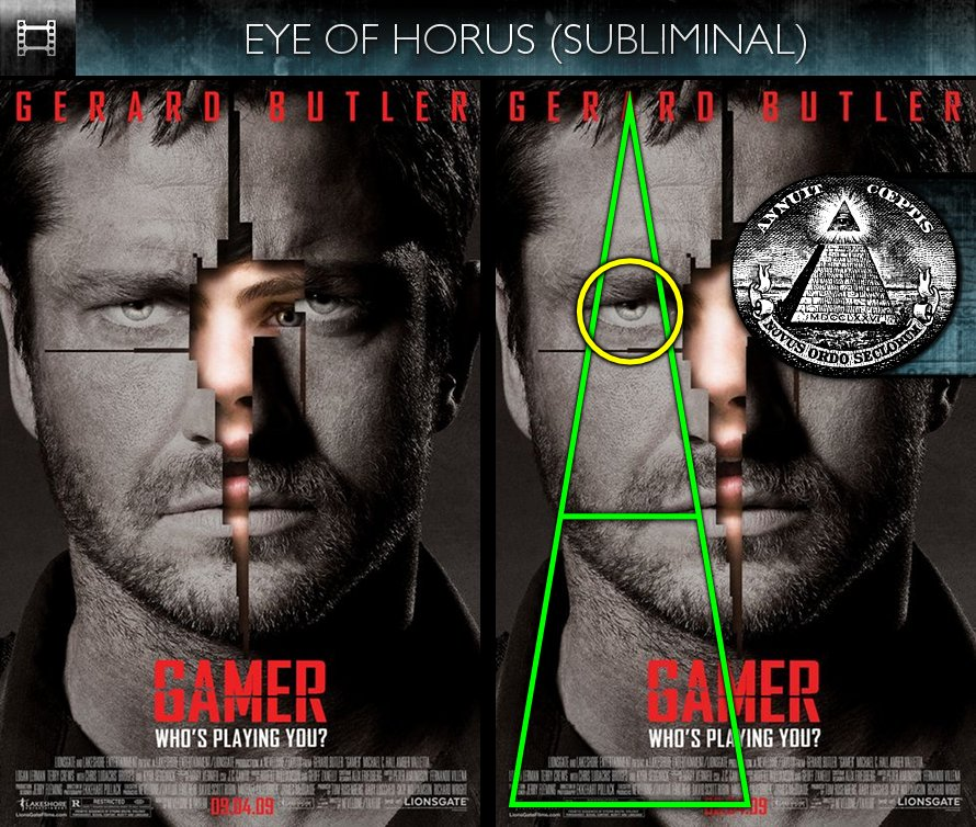 Gamer (2009) - Poster - Eye of Horus - Subliminal