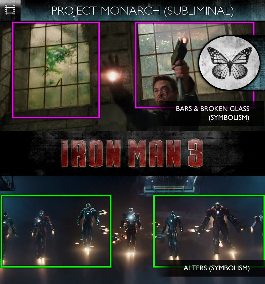 Iron Man 3 (2013) - Trailer - Project Monarch - Subliminal