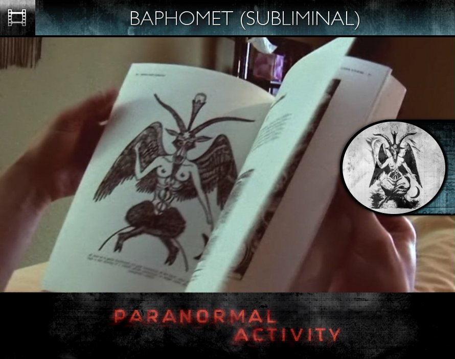 Paranormal Activity (2009) - Baphomet - Subliminal