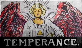 Rider-Waite: 14 – Temperance [Tarot] | Hollywood Subliminals