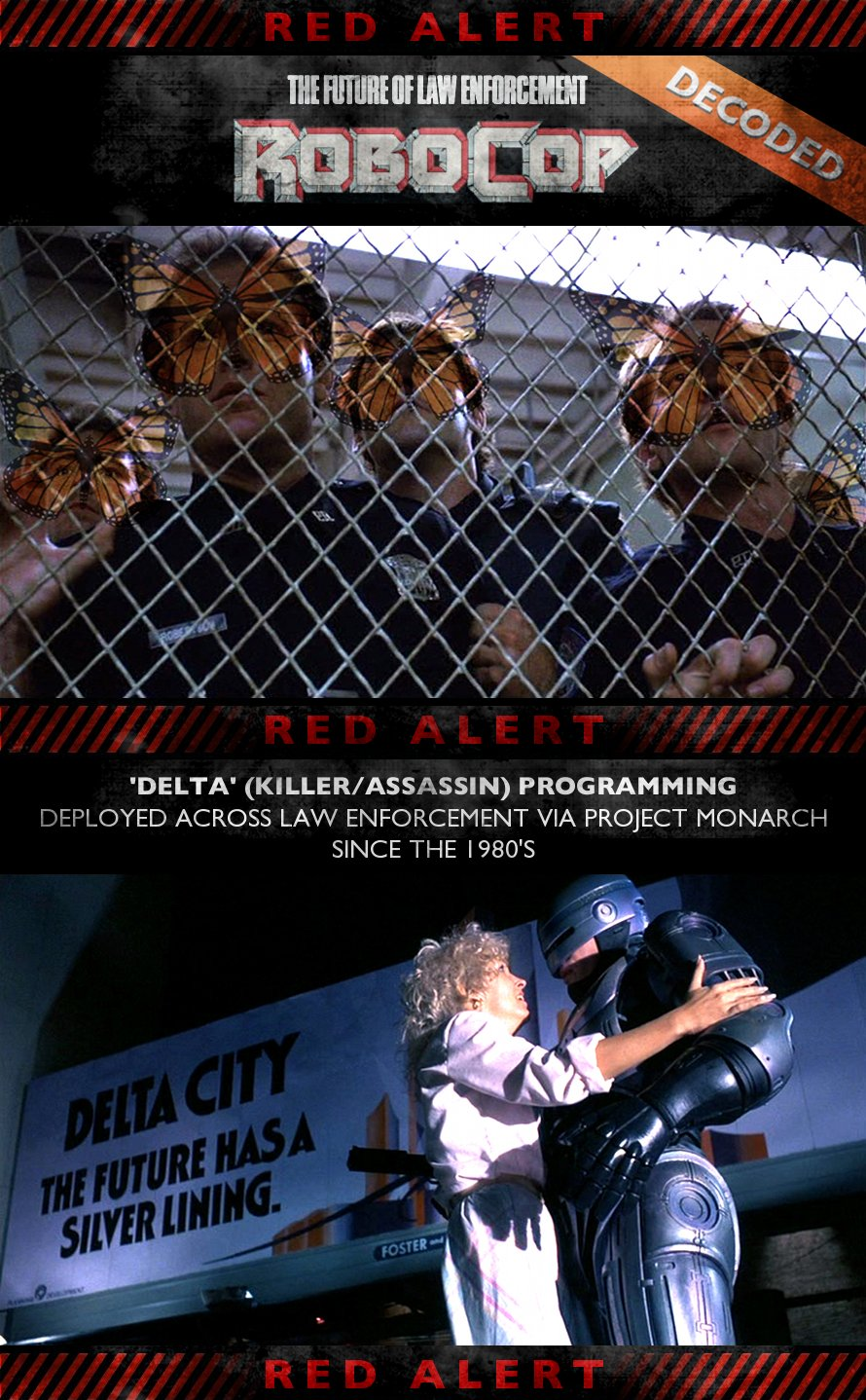 RoboCop (1987) - Decoded - Project Monarch
