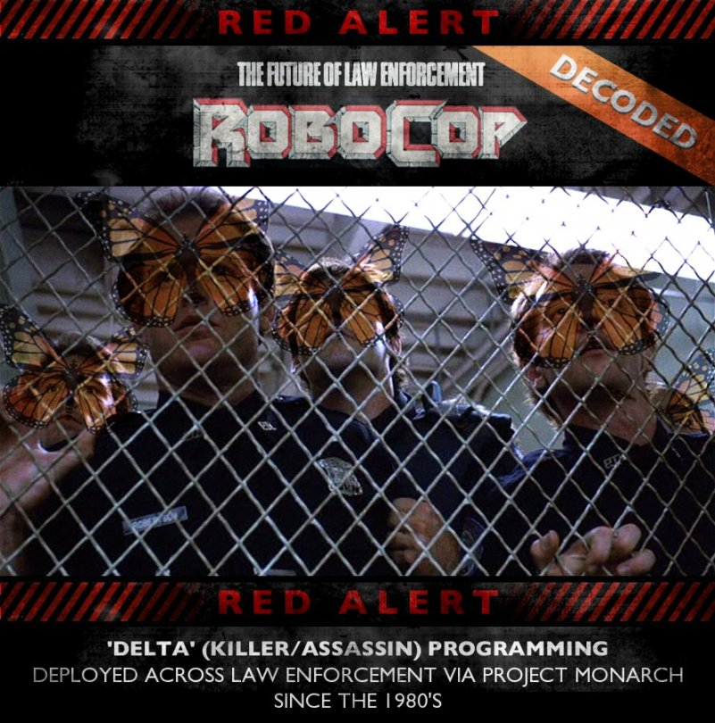 RoboCop (1987) Decoded - Project Monarch (Delta Programming)