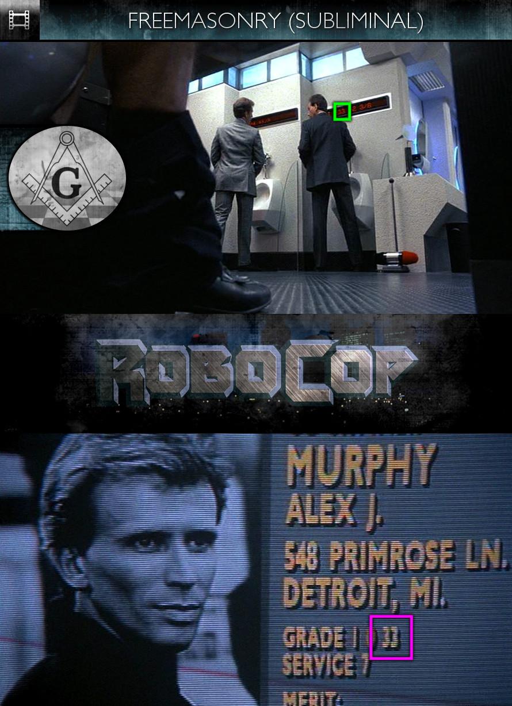 RoboCop (1987) - Freemasonry - Subliminal