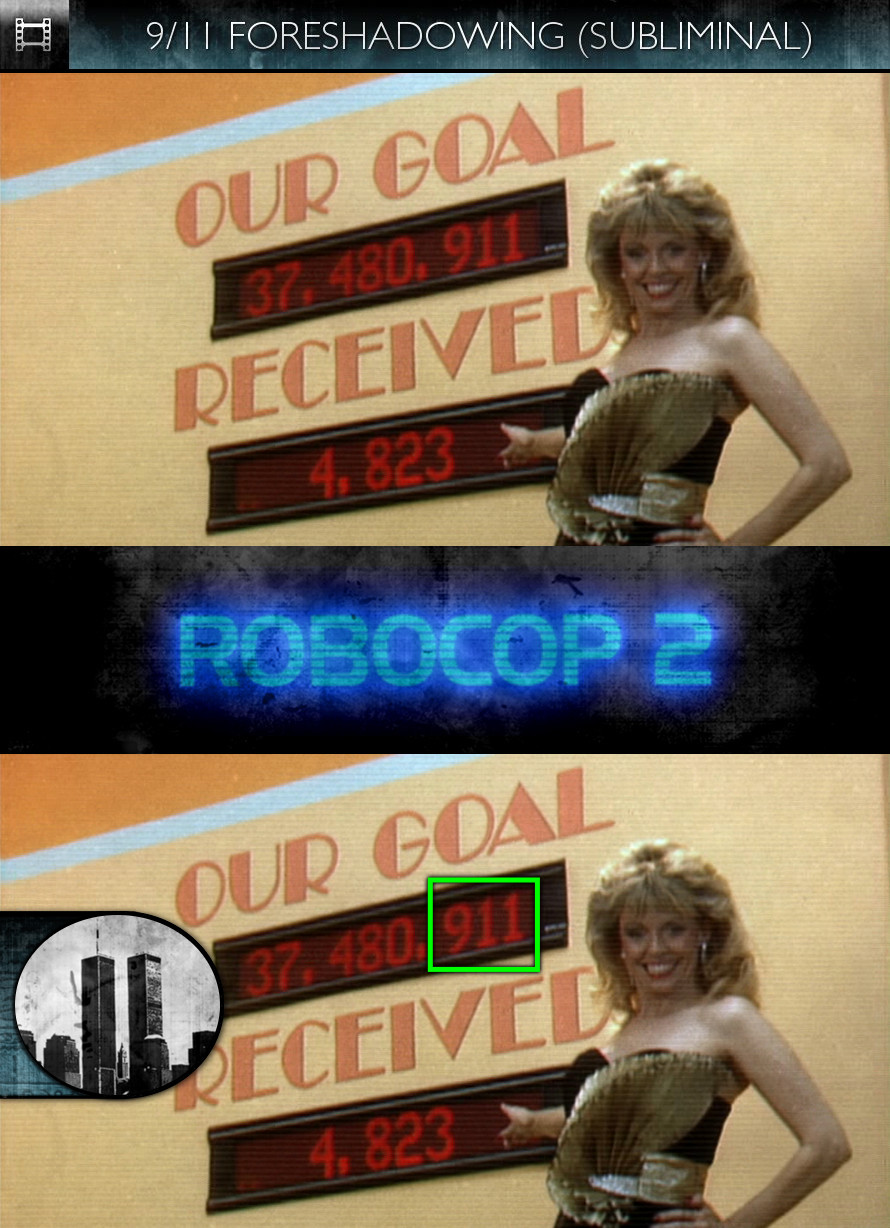 RoboCop 2 (1990) - 9/11 Foreshadowing - Subliminal