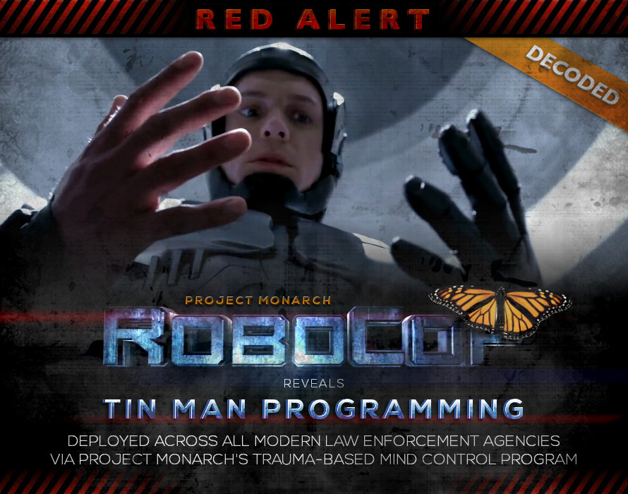 RoboCop (2014) - Project Monarch - Tin Man Programming