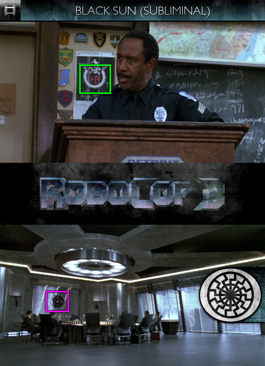 RoboCop 3 (1993) - Black Sun - Subliminal