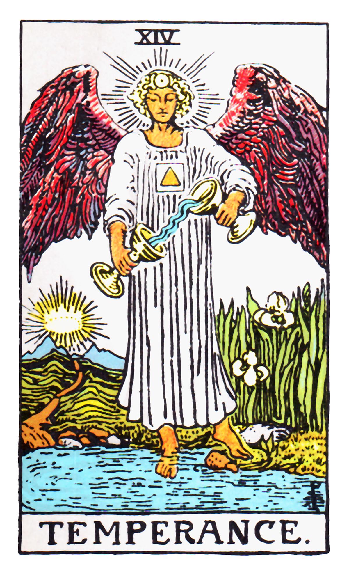 Xiv Temperance Balance Archangel Zadkiel: Hollywood Subliminals