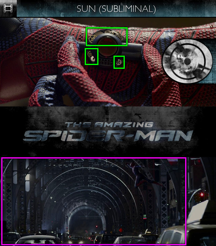 The Amazing Spider-Man (2012) - Sun/Solar - Subliminal