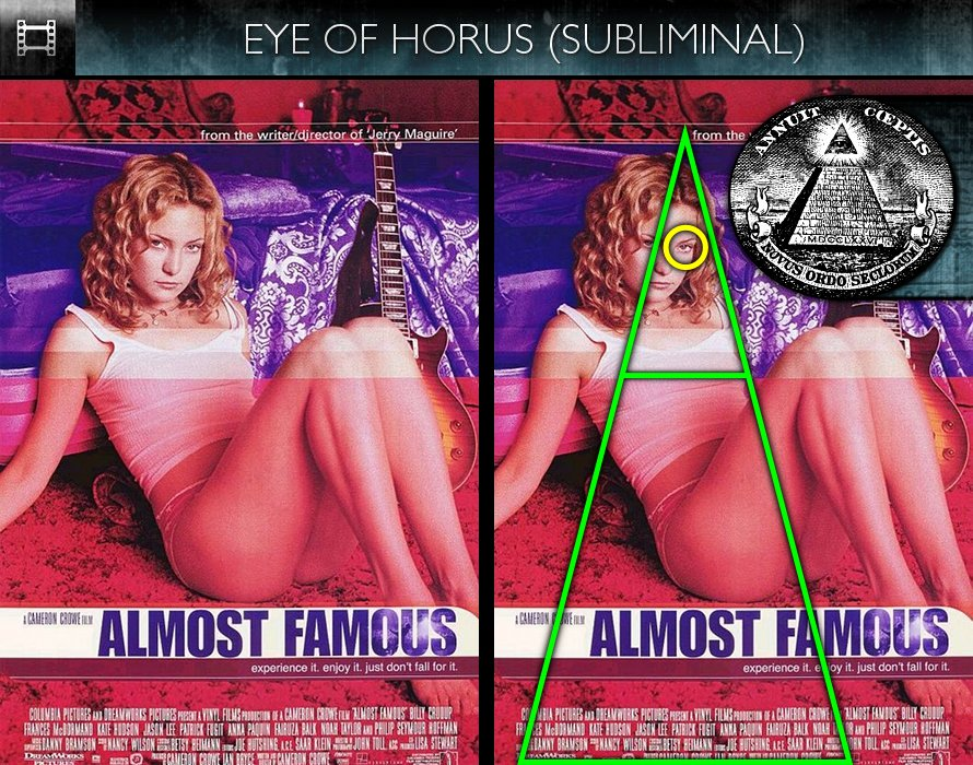 Almost Famous (2000) - Poster - Eye of Horus - Subliminal