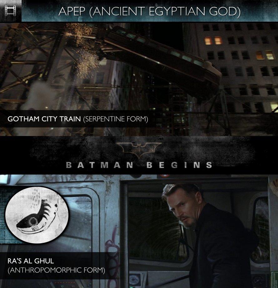 APEP - Batman Begins (2005) - Gotham City Train & Ra's al Ghul