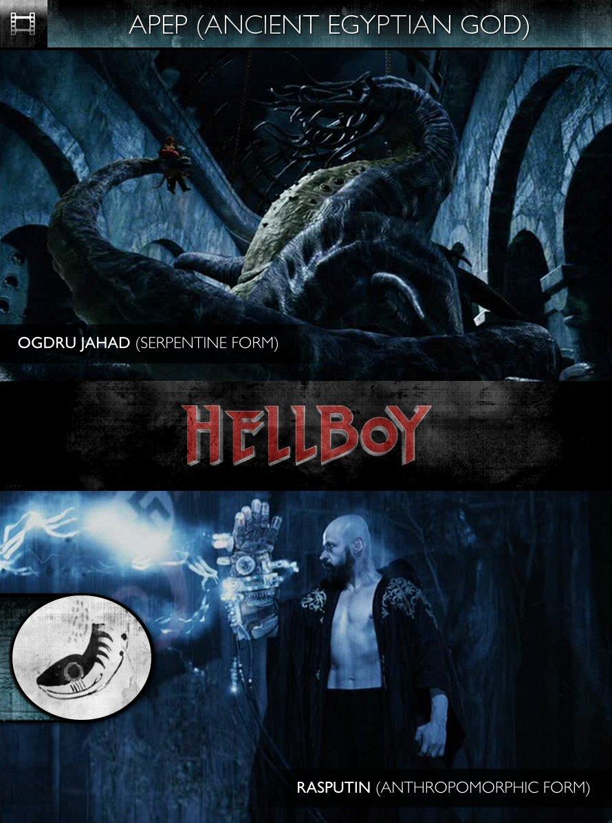 APEP - Hellboy (2004) - Ogdru Jahad & Rasputin