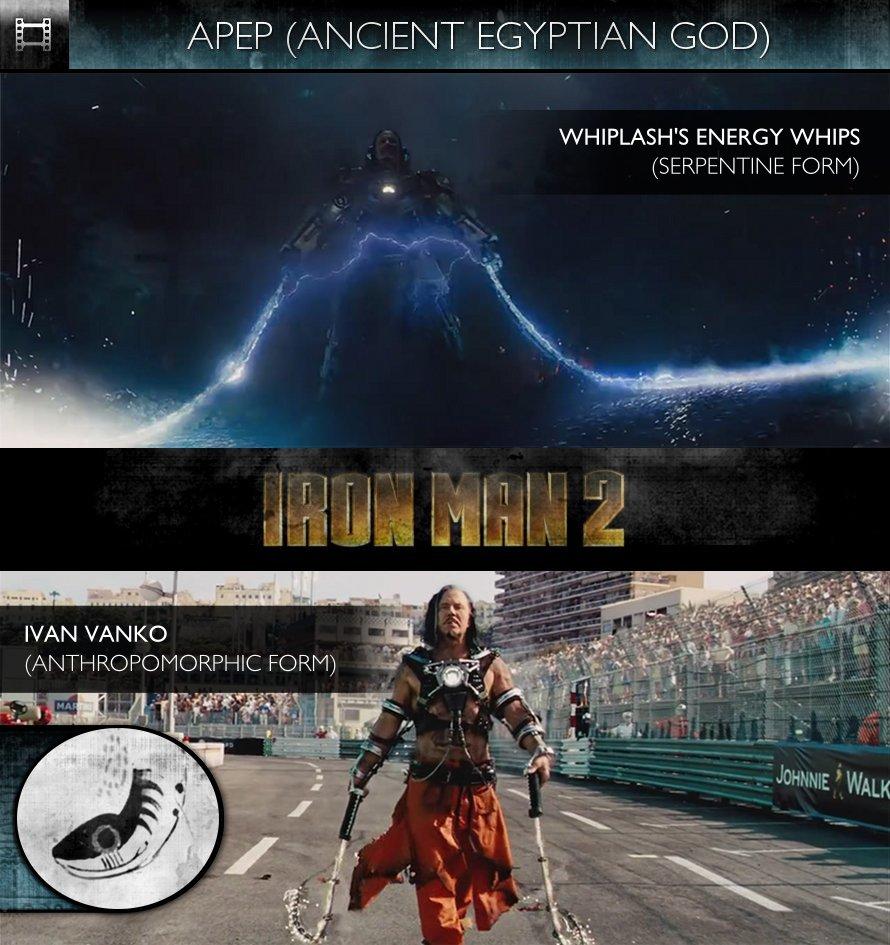 APEP - Iron Man 2 (2010) - Whiplash's Energy Whips & Ivan Vanko