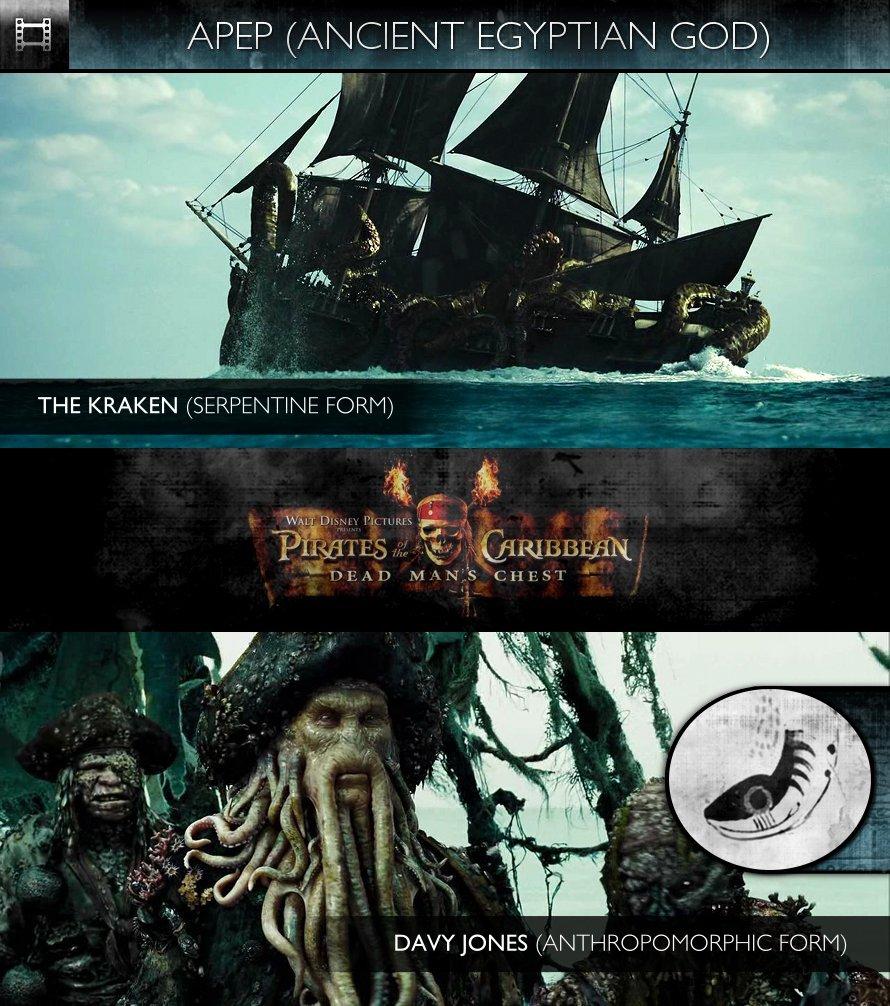 APEP - Pirates of the Caribbean: Dead Man's Chest (2006) - The Kraken & Davy Jones