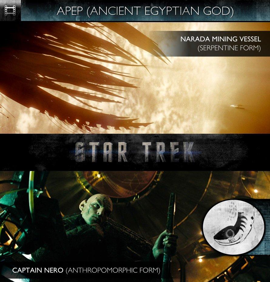 APEP - Star Trek (2009) - Narada Mining Vessel & Captain Nero
