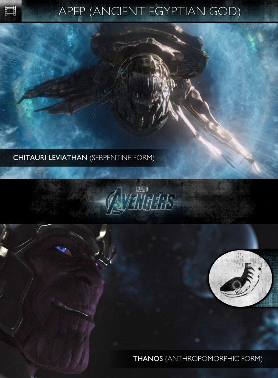 APEP - The Avengers (2012) - Chitauri Leviathan & Thanos