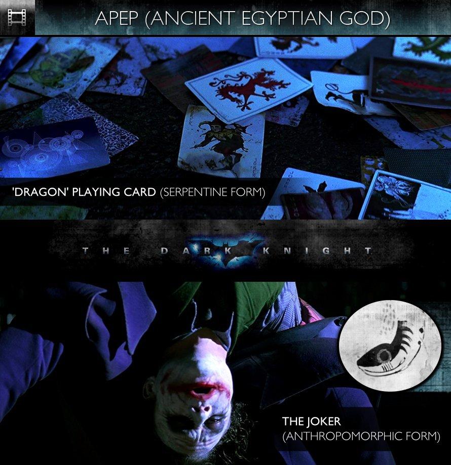 APEP - The Dark Knight (2008) - Dragon Playing Card & The Joker