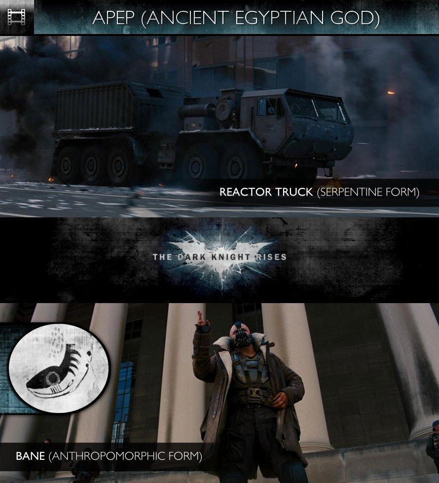 APEP - The Dark Knight Rises (2012) - Reactor Truck & Bane