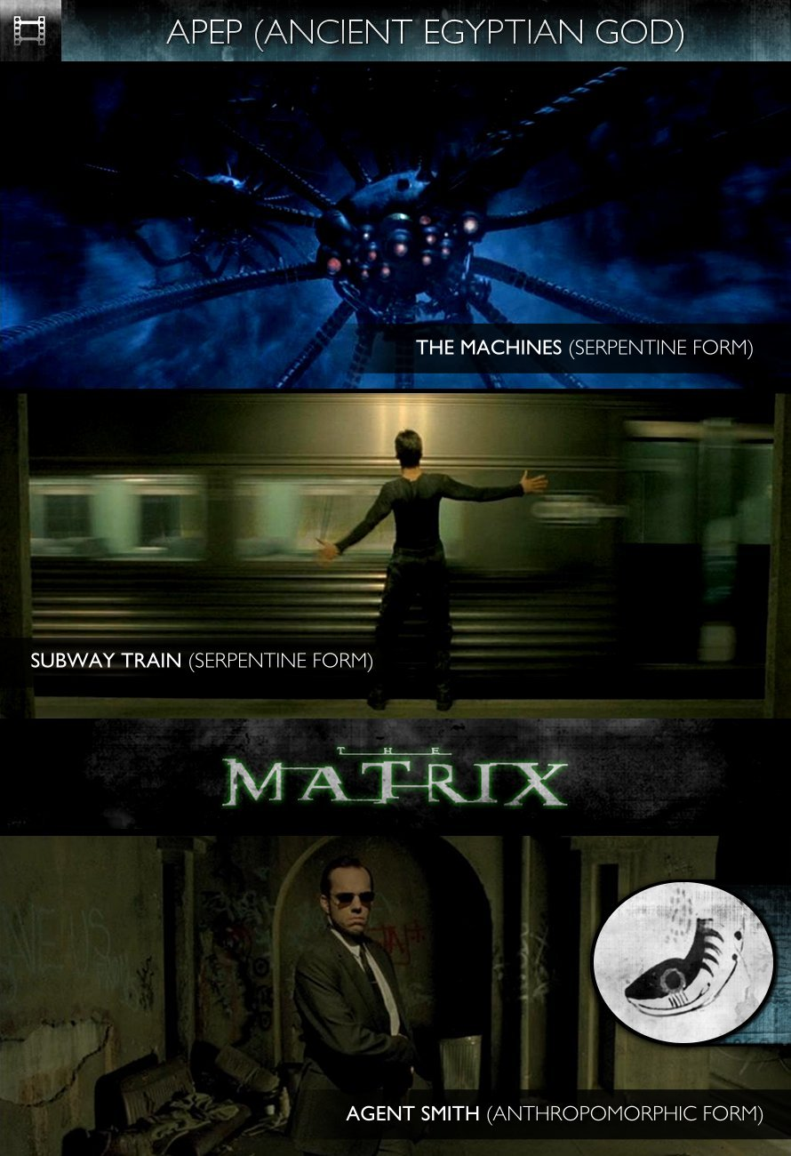 APEP - The Matrix (1999) - The Machines, Subway Train & Agent Smith