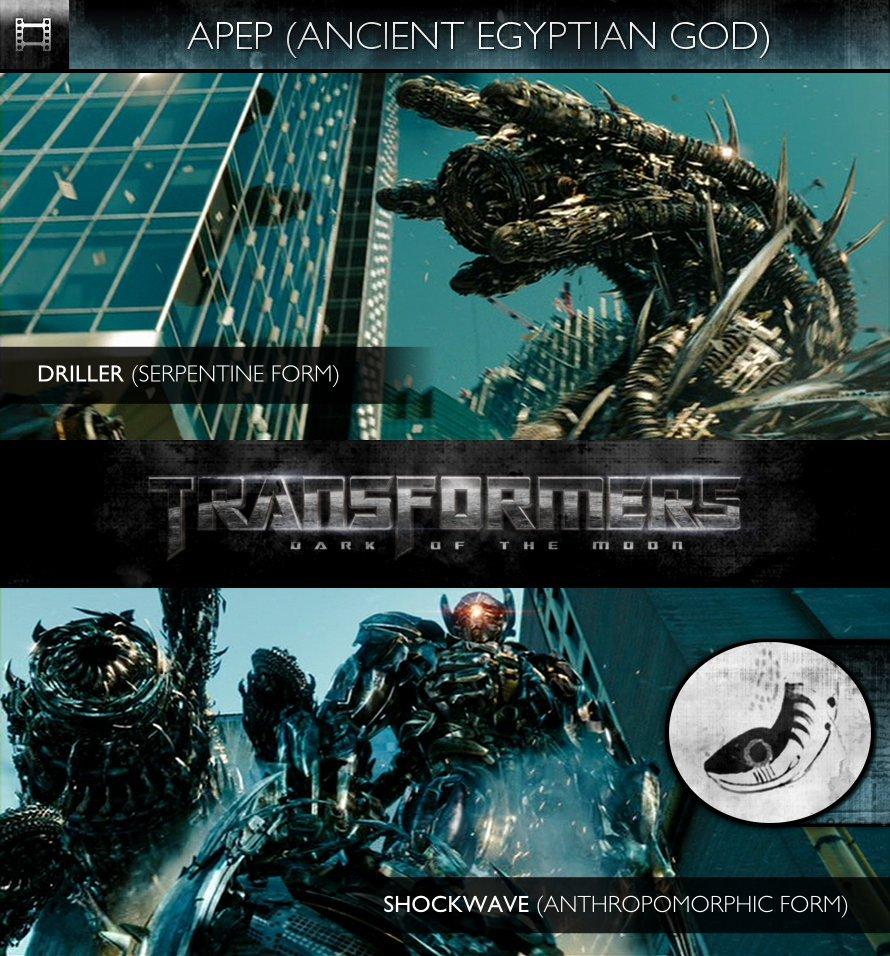 APEP - Transformers: Dark of the Moon (2011) - Driller & Shockwave