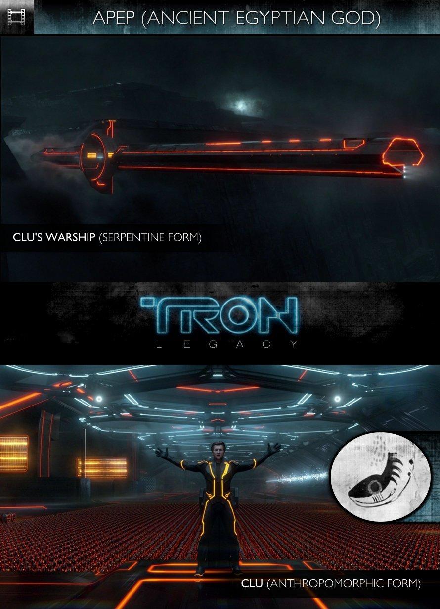 APEP - TRON Legacy (2010) - CLU's Warship & CLU