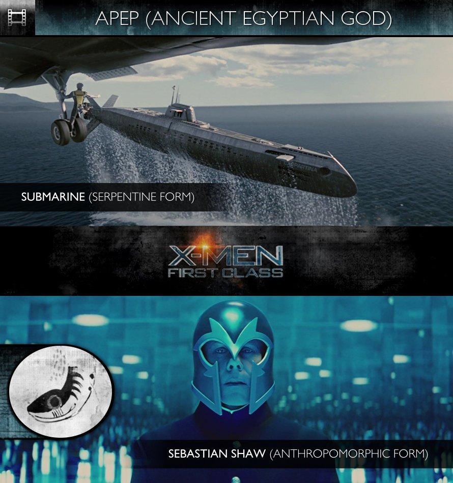 APEP - X-Men: First Class (2011) - Sebastian Shaw & Submarine
