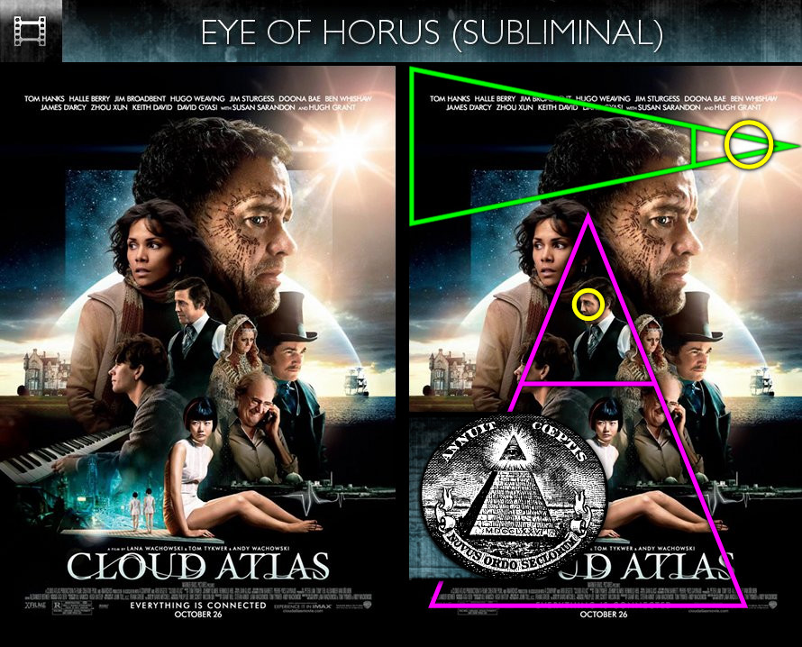 Cloud Atlas (2012) - Poster - Eye of Horus - Subliminal