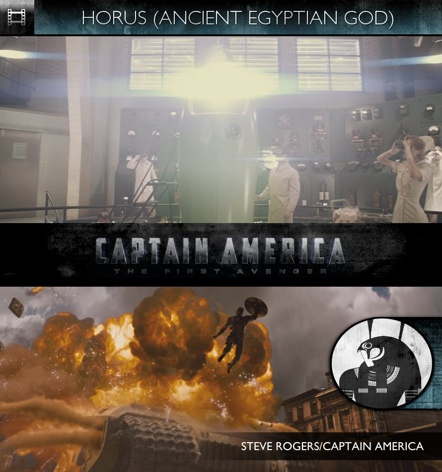 HORUS - Captain America: The First Avenger (2011) - Steve Rogers & Captain America