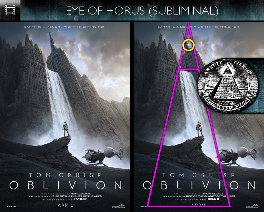 Oblivion (2013) - Poster - Eye of Horus - Subliminal