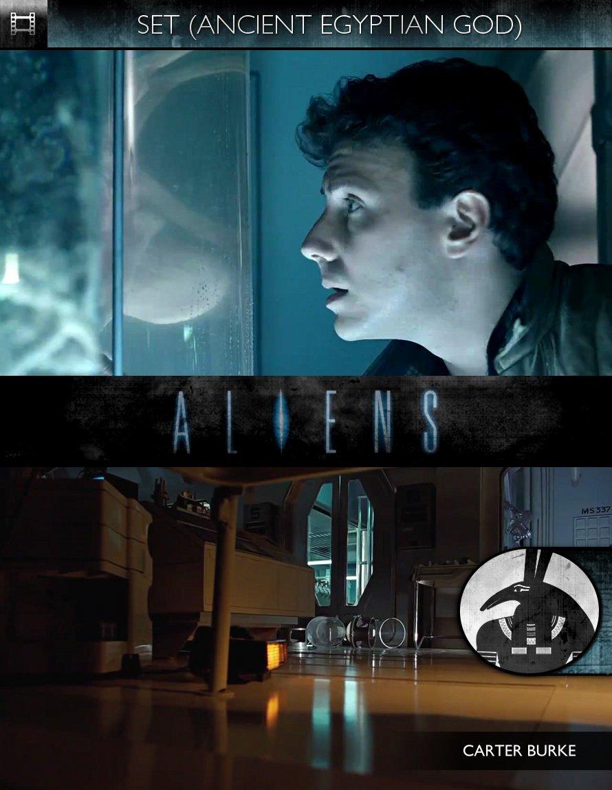 SET - Aliens (1986) - Carter Burke