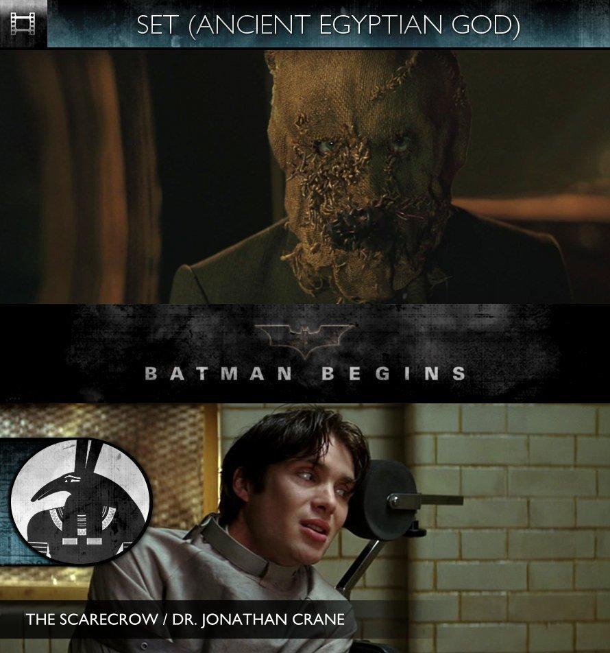 SET - Batman Begins (2005) - Scarecrow (Dr. Jonathan Crane)