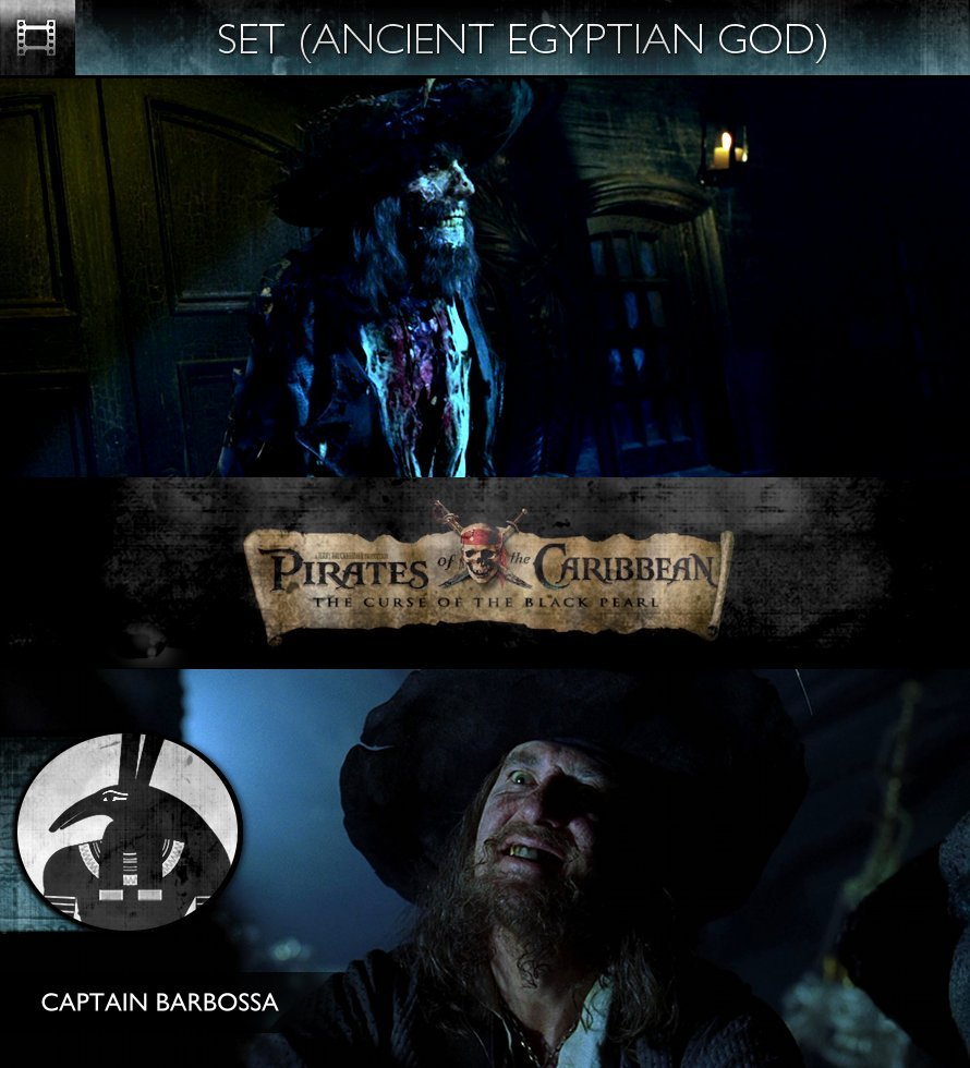SET - Pirates of the Caribbean: The Curse of the Black Pearl (2003) - Captain Barbossa