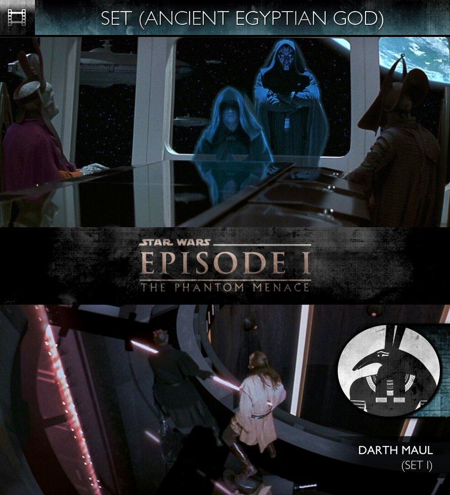 SET - Star Wars - Episode I: The Phantom Menace (1999) - Darth Maul