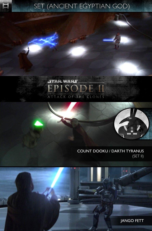 SET - Star Wars - Episode II: Attack of the Clones (2002) - Count Dooku (Darth Tyranus) & Jango Fett