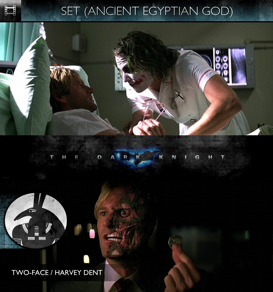 SET - The Dark Knight (2008) - Two-Face (Harvey Dent)