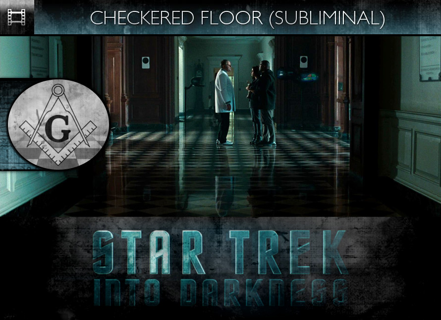 Star Trek Into Darkness (2013) - Checkered Floor - Subliminal