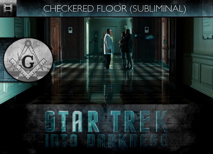 Star Trek Into Darkness (2013) - Checkered Floor - Subliminal