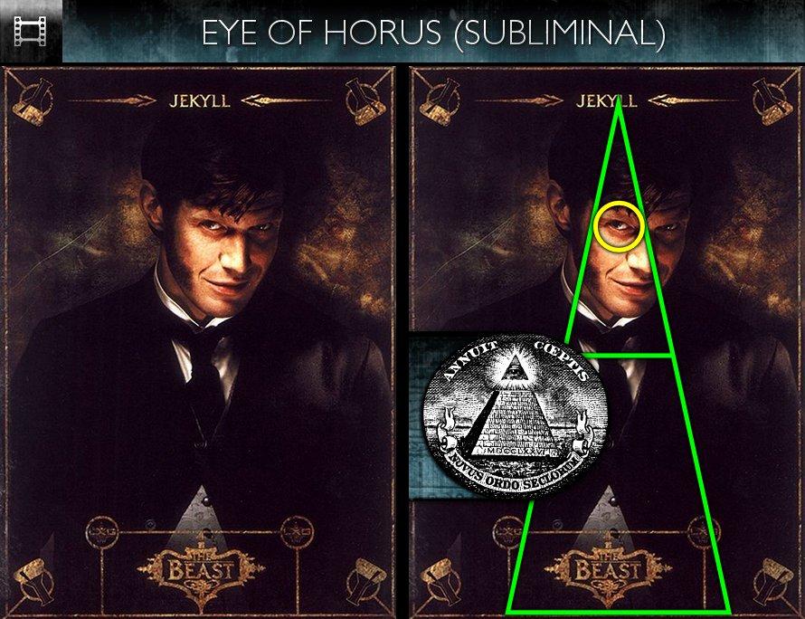 The League of Extraordinary Gentlemen (2003) - Poster - Eye of Horus - Subliminal
