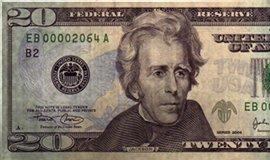 American 20 Dollar Note-tb
