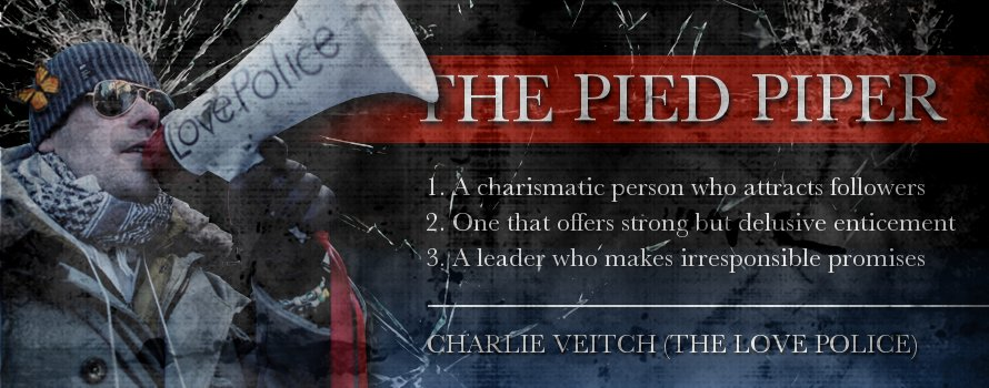 Charlie Veitch - The Love Police - The Pied Piper